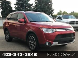 2015 Mitsubishi Outlander GT AWD 7 SEATER BACKCAM ON SALE NOW!!