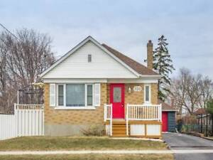 Upgraded 2+1 Bdrm Bungalow In High Demand Area @ Adelaide Ave