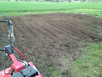 Quality roto-tilling services - London + surrounding