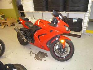 2009 250 R NINJA KAWASAKI MOTORCYCLE