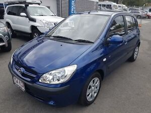 2007 Hyundai Getz TB MY07 SX Blue 4 Speed Automatic Hatchback Southport Gold Coast City Preview