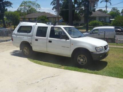 2002 holden rodeo Lethbridge Park Blacktown Area Preview