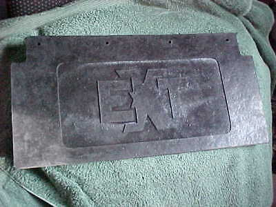 1972 ARCTIC CAT  E.X.T.  SNOWMOBILE SNOW, MUD FLAP NEW REPOP