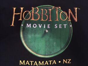 HOBBITON T-Shirt sz LG (from New Zealand movie set)