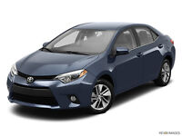 LEASE TRANSFER 2014 Toyota Corolla 276$/month