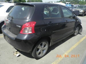 2007 TOYOTA YARIS FOR PARTING OUT