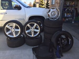 Mercedes E320 Winter tires and rims/offset tires and rims