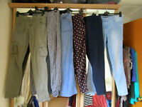 6 Pairs Fab Mixed Womens Trousers - Sizes 10/12/14
