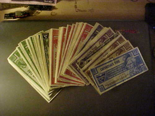 Canadian Tire Money - 120 Notes