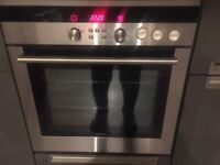 oven siemens built in single fan assited electric