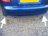 Audi S3 3 door black edition rear complete bumper original 2011 A3