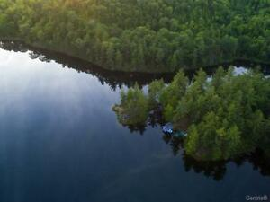 Land with cottage,393 acres,Private trout lake, Outaouais
