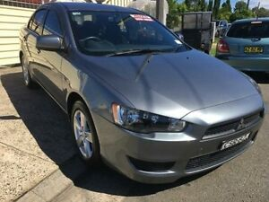 2014 Mitsubishi Lancer CJ MY14 ES Grey 6 Speed Continuous Variable Sedan Yagoona Bankstown Area Preview