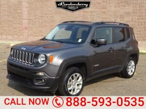 2016 Jeep Renegade 4WD NORTH Accident Free,  Heated Seats,  Back