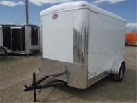 6 x 10 Enclosed by Cargo Mate - Ramp Door, Radials, LED *TAX IN*