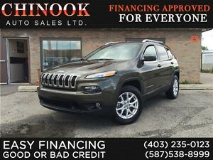 2014 Jeep Cherokee North 4x4-No Accident,1 Owner,Rmt Start,Hitch