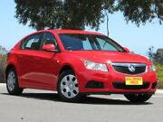 2012 Holden Cruze JH Series II MY12 CD Red 6 Speed Sports Automatic Hatchback Blair Athol Port Adelaide Area Preview