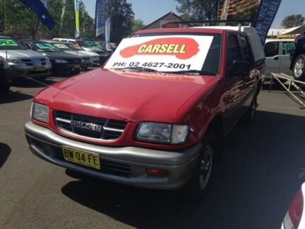 2001 Holden Rodeo TFR9 LT Red 4 Speed Automatic Crewcab Woodbine Campbelltown Area Preview