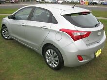 2015 Hyundai i30 GD MY14 Active 1.6 CRDi Silver 6 Speed Automatic Hatchback South Grafton Clarence Valley Preview