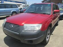 2005 Subaru Forester 79V MY05 X AWD Red 4 Speed Automatic Wagon Greenslopes Brisbane South West Preview