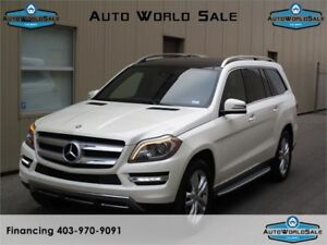 2013 MERCEDES BENZ GL 450- 4MATIC| WHITE -NAVI/7 SEATER