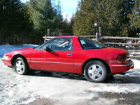 1989 Buick Reatta for parts or restoration.