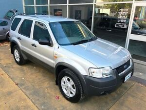 2003 Ford Escape ZA XLT Silver 4 Speed Automatic Wagon Hobart CBD Hobart City Preview