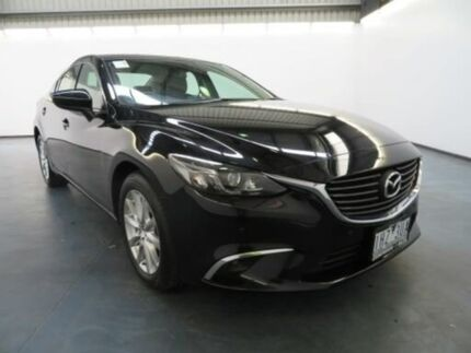 2016 Mazda 6 6C MY15 Touring Safety Jet Black 6 Speed Automatic Sedan Albion Brimbank Area Preview