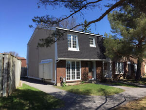 Furnished 3BDR Townhouse in Rideauview - $2,300/month