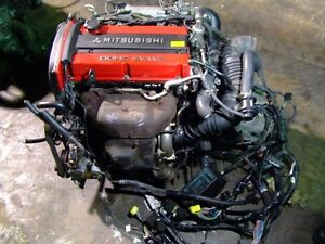 JDM MITSUBISHI 4G63T EVOLUTION TURBO ENGINE MT TRANSMISSION ECU