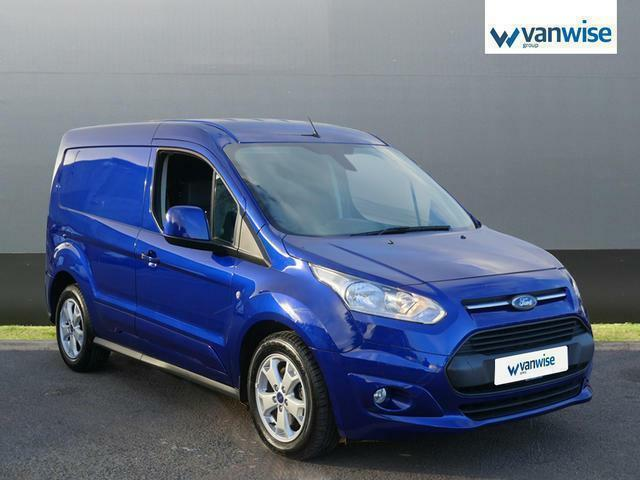 2016 Ford Transit Connect 1 5 Tdci 120ps Limited Van Sel Blue Manual