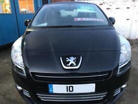 2010 Peugeot 5008 1.6 HDi 110 Sport 5dr 5 door MPV