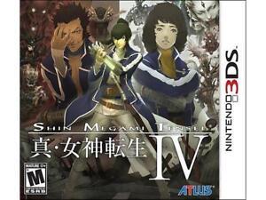 SHIN MEGAMI TENSEI IV WITH BOX FOR NINTENDO 3DS