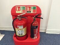 Fully maintained Fire Extinguishers