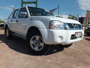 2011 Nissan Navara D22 MY2010 ST-R White 5 Speed Manual Utility Rosslea Townsville City Preview