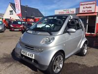 SMART FORTWO 0.7 PASSION SOFTOUCH 2d AUTO 61 BHP (silver) 2005