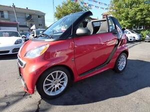 2013 SMART FORTWO PASSION CABRIOLET (NAVI, BLUETOOTH, FULL!!!)