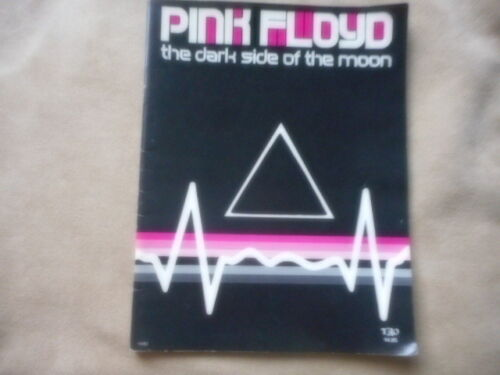 """PINK FLOYD """"DARK SIDE OF THE MOON"""" GUITAR TABULATURE WITH NOTED & LYRICS"""