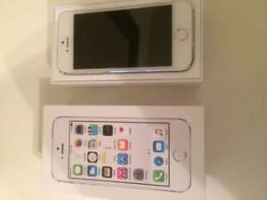 I-Phone 5S, 16GB, Silver/White, Factory Unlocked