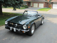 75 Triumph TR6 - Great Daily Driver!