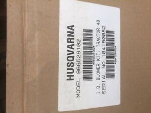 Husqvarna 966529102 grass blower kit, Brand New.