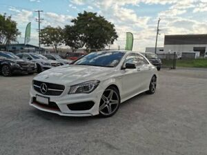 2015 Mercedes-Benz CLA250 117 MY15 4Matic White 7 Speed Automatic Coupe