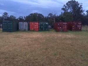 Shipping Container Storage On Rural Property Pokolbin Cessnock Area Preview