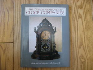 The Canada & Hamilton Clock Companies book