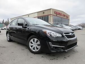 2016 Subaru Impreza 2.0i AWD, BT, CAMERA, JUST 11K!