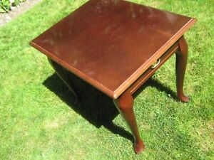 End Tables - mahogany style