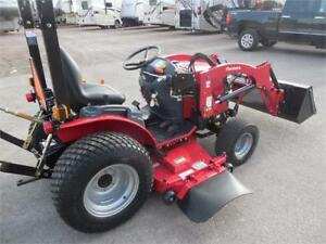Mahindra 22S with mower and LDR