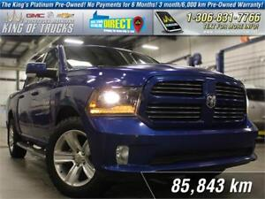 2014 Ram 1500 Sport Leather | Nav | PST Paid