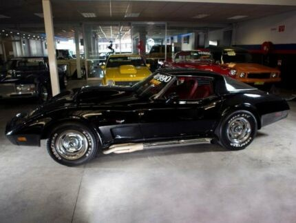 1978 Chevrolet Corvette Stingray Black 4 Speed Automatic Coupe