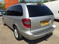 2004 Chrysler Grand Voyager automatic 7 seater, starts and drives very well, MOT until 2nd November,